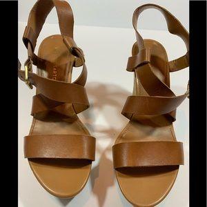 franco sarto wedge sandals size 8
